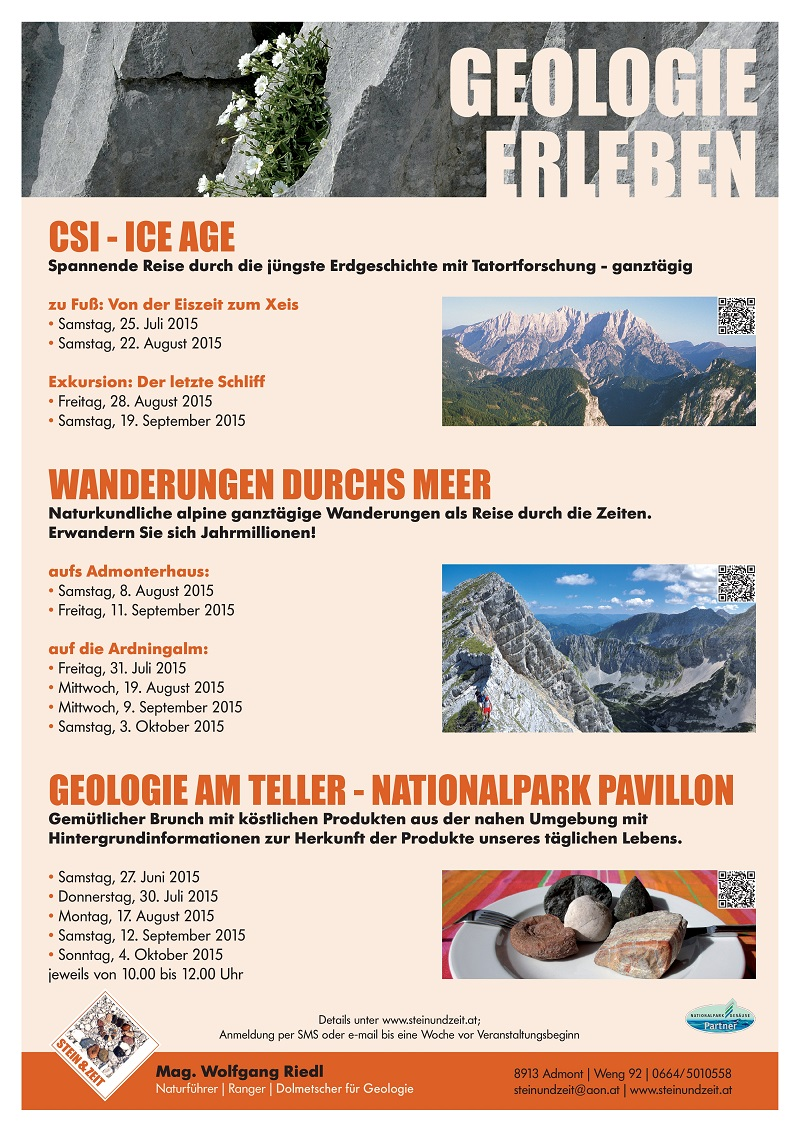 Plakat Steinzeit 2015
